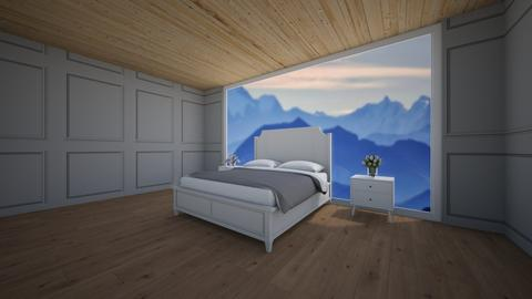 Mountain room - Global - Bedroom  - by Dog girl