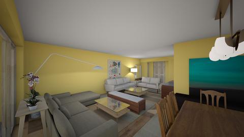 MBJ recepcionB vista1 - Living room  - by bpgarqs
