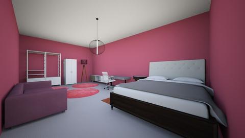 rhune haar kamer - Bedroom  - by thor wille
