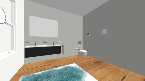 B - Bathroom  - by rosenn