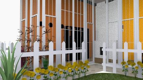 happy garden in USA - Modern - Garden  - by evakiew