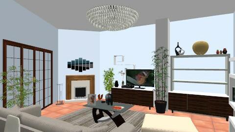 Soggiorno - Rustic - Living room  - by marcproi