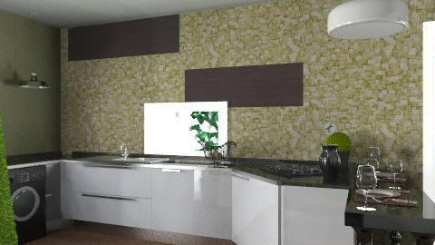 AGAVE 02 plus - Glamour - Kitchen  - by domuseinterior