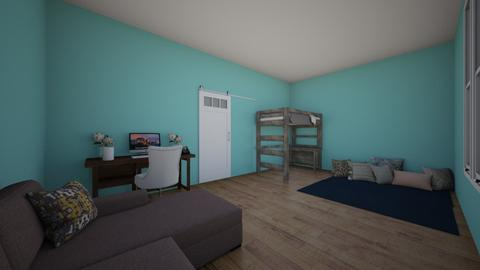 modern pillow room - Modern - Bedroom - by aschaper