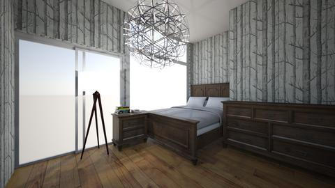 Woodland theme bedroom - Bedroom  - by Oceana34567
