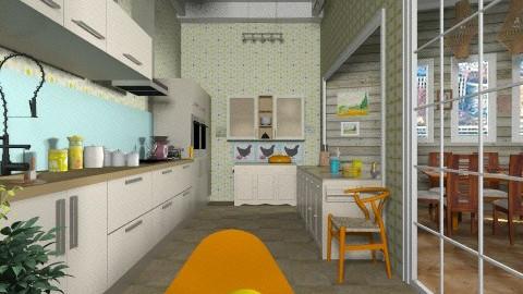 New kitchen - Kitchen  - by milyca8