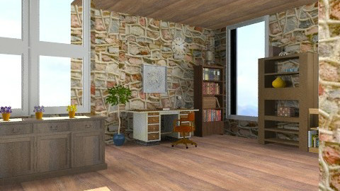OR12 - Rustic - Office  - by ATELOIV87