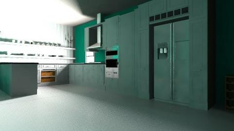 Happy kitchen - Modern - Kitchen - by natedawg556