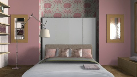 rosa rose - Classic - Bedroom  - by catcarla