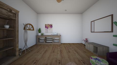 eclectic living room - Eclectic - Living room  - by bowercad