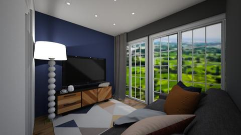 Terrace Living Room - Living room  - by KylaTH