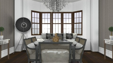 luxe glamour - Glamour - Dining room  - by Abdallah Alayan