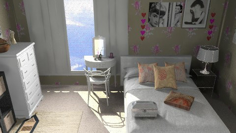 for Jen22 - Glamour - Bedroom  - by CARMEND70