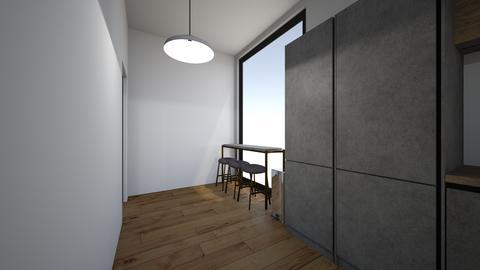 Apt kitchen 2 - by saratevdoska