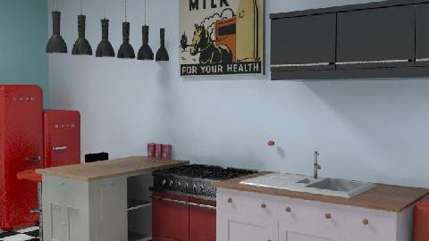 retro 2 - Retro - Kitchen  - by cleopamoramor