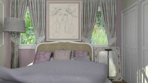 Irish Bedroom - Glamour - Bedroom  - by chania