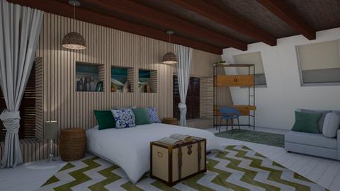 Georgia OKeefe BedRoom - Bedroom - by jo0207