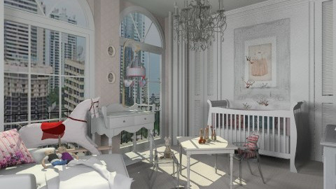 Baby Pink - Classic - Bedroom  - by AlSudairy S