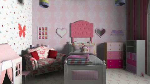 kids room 3 - Country - by wifethefalcon thefalcon