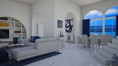 greek - Living room  - by Miss MH