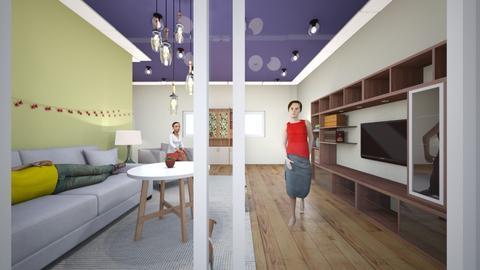 jslyn - Modern - Living room  - by jslyn