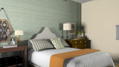 Elliott Guest Suite - Rustic - Bedroom - by MaryFerrisFDC
