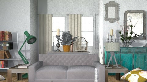 pallette - Eclectic - Living room  - by hunny