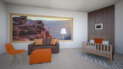 BedRock - Country - Bedroom  - by thenextdoorlawyer