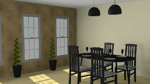 Dining room 2. - Dining Room  - by Varga Dora