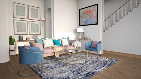 Pastel Living - Living room  - by lyrikkah
