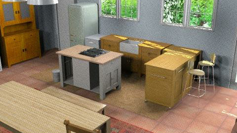 kitchenver6view2 - Retro - Kitchen  - by grownup1