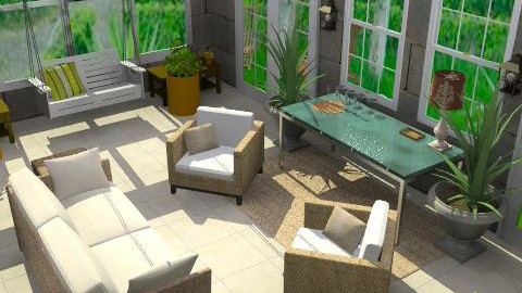 The Patio - Modern - Garden - by bleakc