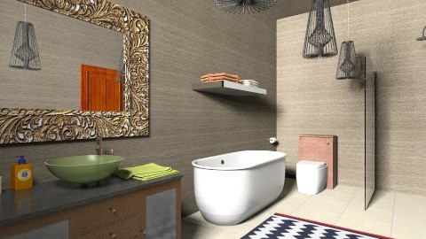 Modern Bathroom 3 - Retro - Bathroom  - by tillsa98