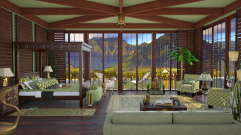 Design 37 South Pacific Elegance - Garden  - by Daisy320