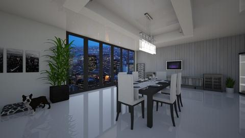 Modern Dinning Room  - Modern - Dining room  - by Johnnn2314
