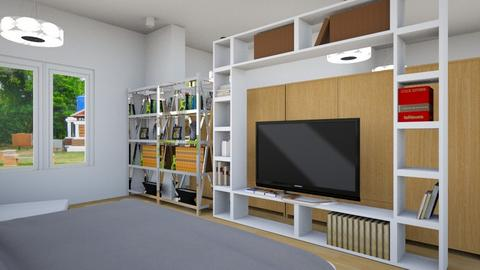 my bed room typ 3 - Bedroom  - by tiituch natt