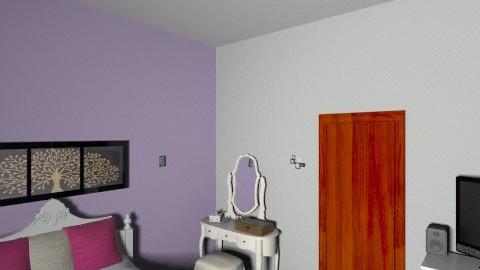 bedroom christin - Glamour - Bedroom  - by chrissi123