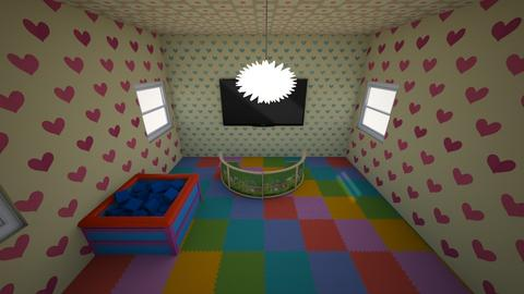 play room - Kids room  - by gay asshole