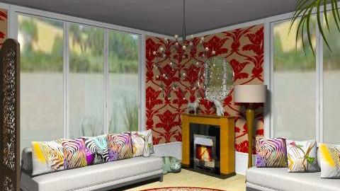 Contrast - Minimal - Living room - by milyca8
