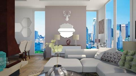 Elegant family home - Living room  - by Nikola Simic