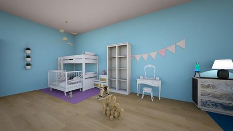 mm - Kids room  - by lolmagdam