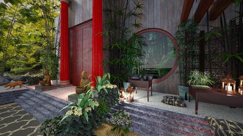 Bamboo Entrance - by Yavanna