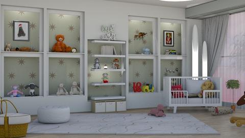 surprise baby nursery - by nat mi