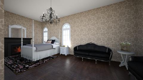 guest bedroom - Bedroom  - by harrystyleswife333