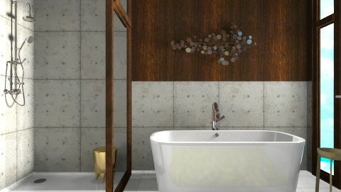 XO Beach Bath - Modern - Bathroom  - by 3rdfloor