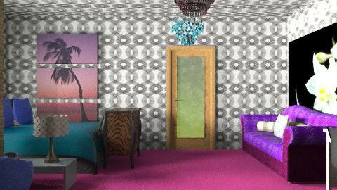 moriah's DREAM room - Glamour - Bedroom  - by prissy