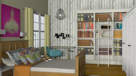 Bedroom - Eclectic - Bedroom  - by lovelieshatred