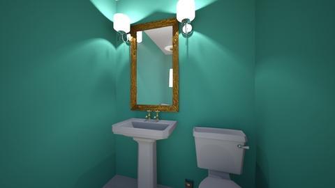 shabby chic - Bathroom - by Kayla Roze