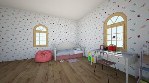 little girl is numtan - Modern - Kids room  - by Funny BBB Chanel