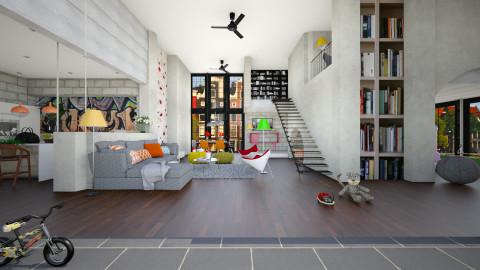6 - Modern - Living room  - by Evangeline_The_Unicorn